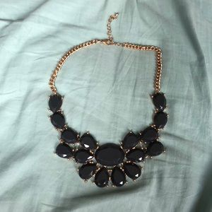 Grey Statement Necklace